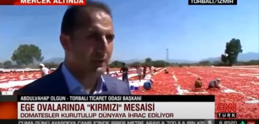 CNN Türk Kurutulmuş Domates