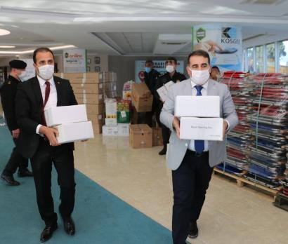 Torbalı iş aleminden İzmir'e yardım
